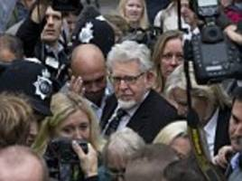 rolf harris's lawyers cited leveson inquiry to hide his arrest